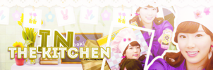 In the kitchen with taeyeon by PeKitChu
