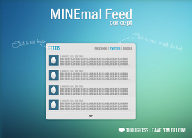 MINEmal Feed - Concept by NomNuggetNom