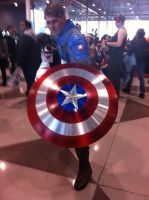 NYCC 2012- Captain America by SweeneyT-DemonBarber