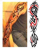 tribal sleeve by key1975