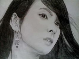 Korean actress Song Hye Kyo by Dinkidi