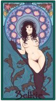 Selkie Art Nouveau by tamga