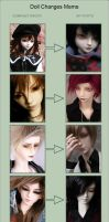 Doll changes meme by yenna-photo
