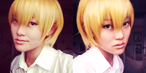 Kise Ryota Makeup Test by Lyrratic