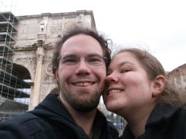 Roman Holiday Selfie by Mifmemo