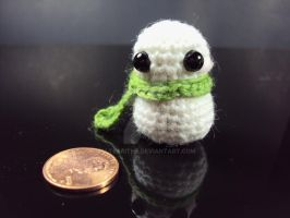 Tiny Chilly Snowman Amigurumi by altearithe