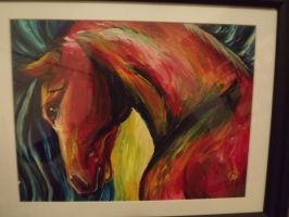 Abstract horse by Tripplerz