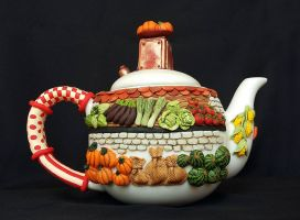 Grocery teapot by kornlak