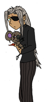 Andre and Phascomon by distantShade