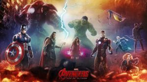 Avengers: Age Of Ultron Wallpaper by CAMW1N
