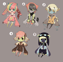 Adopts::Varituri babehs CLOSED by Pandastrophic