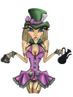 Girl mad hatter by sixslow