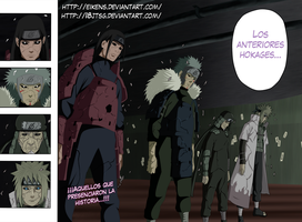 Los anteriores Hokages (Naruto 618) by eikens