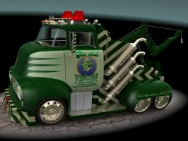 1956 Ford F500 Tow Truck 1 by CWRudy