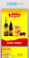 recipe leaflet kecap Indofood by dodpop