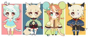 Adoptable Batch Set Price (2 OPEN) by Foxifa