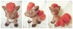 Vulpix plush by d215lab