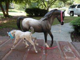 Classic Breyer Halters by FluffyAri