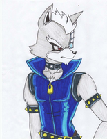 Wolf Dressed up as Wolfrun by Demonwolf89