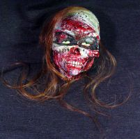 zombie Decapitated Debbie by Undead-Art