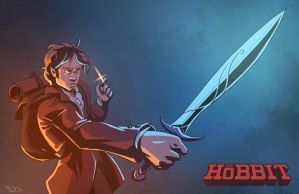 The Hobbit - Bilbo by swadeart