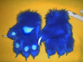 random blue paws for sale by DrakonicKnight