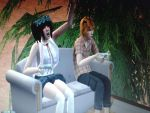 my characters in sims 2 by Juli-sempaii