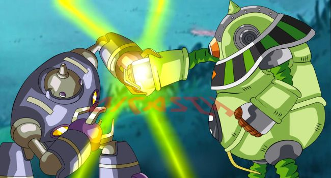 MAGETTA VS MOSCO  METALMANS FIGHT by dicasty1