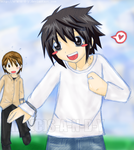:DN: Hurry up Raito-kun by s-a-n-d-y