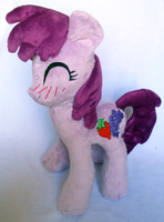 Drunk Berry Punch plush by SilkenCat