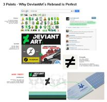 3 Points - Why DeviantArt's Rebrand is Perfect by njim