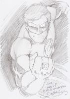 GreenLantern quicksketch 2Sue by danielhdr