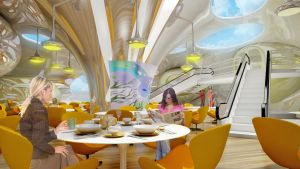 Restaurant Aquatoria 2 by Ultrarender