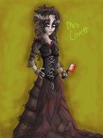 Mrs. Lovett- Coloured by FreyRoseFire