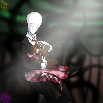 Slenderman y Sally by Idol360