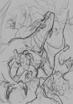 Rough composition sketch by Cris-pq