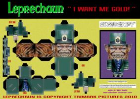 Leprechaun Cubee by mikedaws