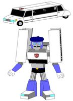 A Limousine as a Transformer by Gamekirby
