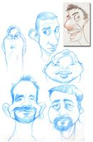some new caricatures by borogove13