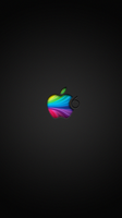 Apple logo by Puzjaka
