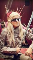 Thranduil cosplay by seawaterwitch