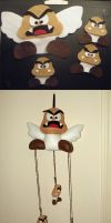 Goomba Mobile by loveandasandwich