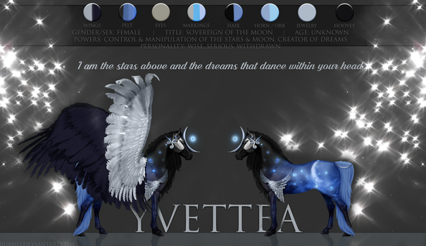 Yvettea Reference Sheet by Ruanly