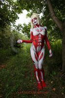 Annie Leonhardt- the Female Titan by shelle-chii
