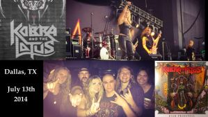Kobra and the Lotus (and I), Dallas 2014 by ENTITY-JS