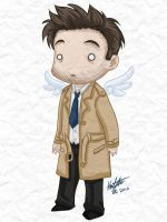 Chibi Cas by GlamourKat