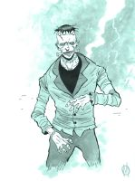 Frankenstein's Monster by MikeOppArt