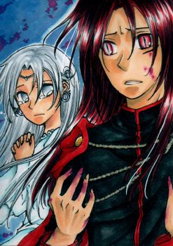 ACEO No135 Nocturn and White by nayght-tsuki