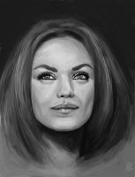 Mila Kunis ! by TryingDrawingG