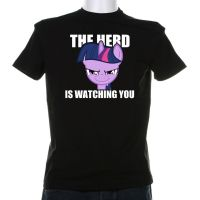 The Herd is Watching You Shirt-Conncept by Grumbeerkopp
